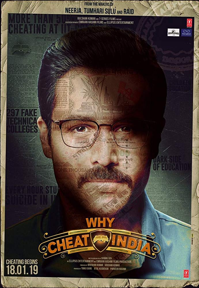 Why Cheat India 2019 HDTVRip Hindi 720p x264 AAC - mkvCinemas [Telly]