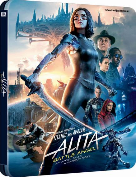 Alita Battle Angel (2019) HDRip XviD AC3 EVO