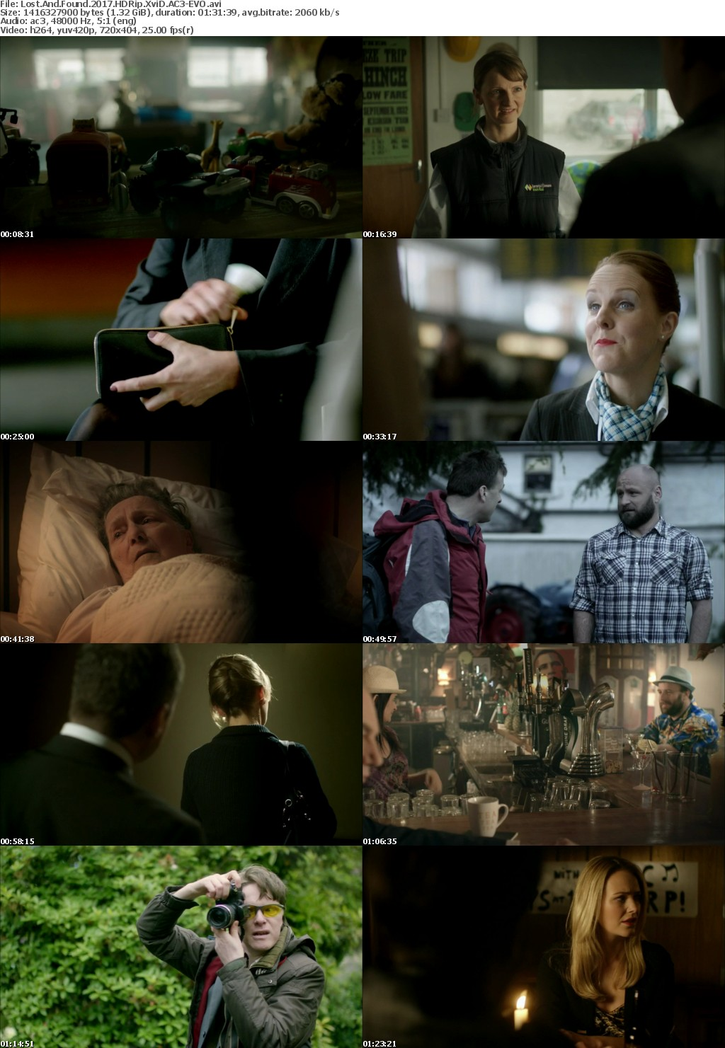 Lost And Found (2017) HDRip XviD AC3-EVO
