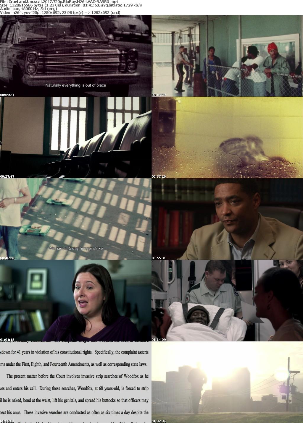 Cruel and Unusual (2017) 720p BluRay H264 AAC-RARBG