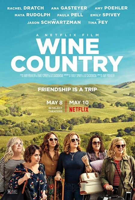 Wine Country (2019) 720p WEBRip 800MB x264  GalaxyRG