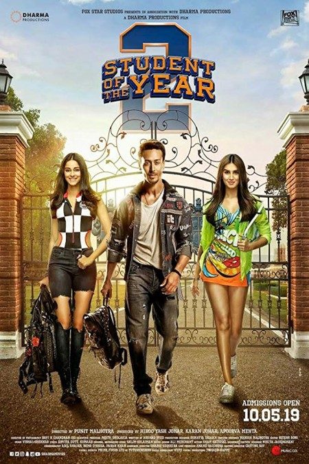 Student of the Year 2 2019 480p PreDVD Rip 700MB x264 CineVood Exclusive