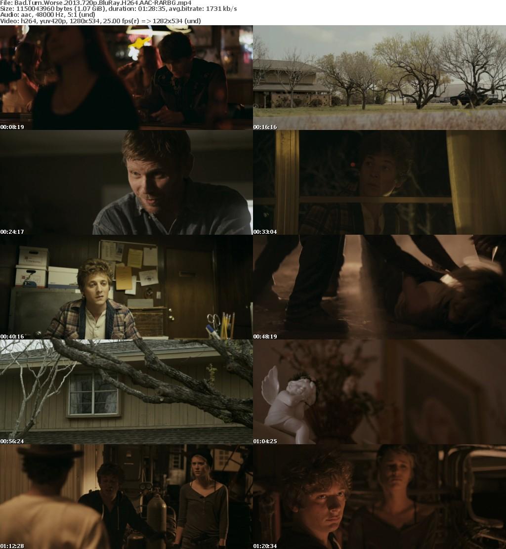 Bad Turn Worse (2013) 720p BluRay H264 AAC-RARBG