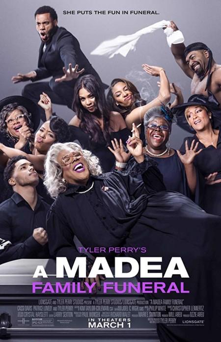 A Madea Family Funeral 2019 720p WEBRip 800MB x264-GalaxyRG