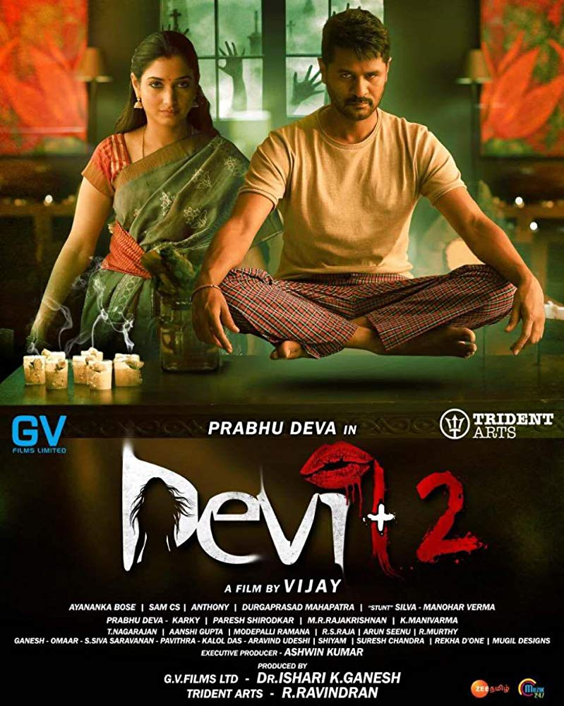 Devi 2 2019 Tamil HQ PreDVDRip - x264 - 400MB - Original Audio