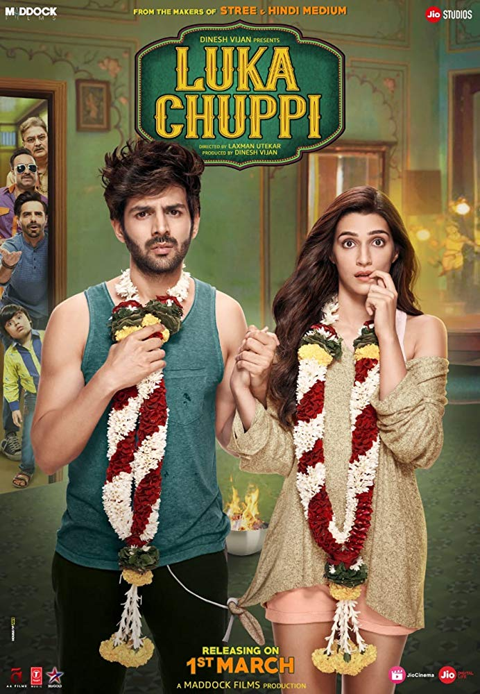 Luka Chuppi 2019 Hindi 720p HDRip x264 AAC ESubs -UnknownStAr [Telly]