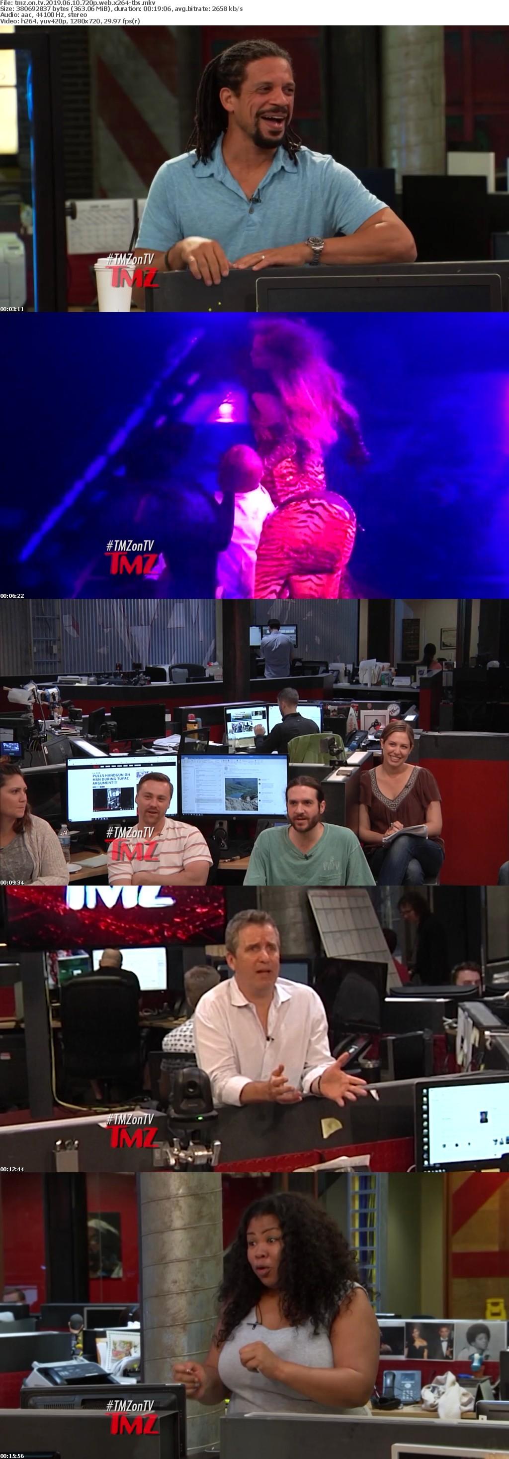 TMZ on TV 2019 06 10 720p WEB x264-TBS
