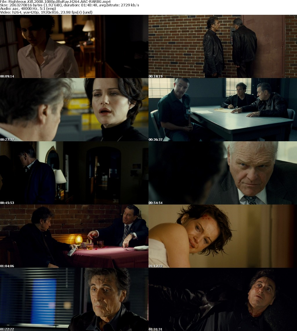 Righteous Kill (2008) 1080p BluRay H264 AAC-RARBG