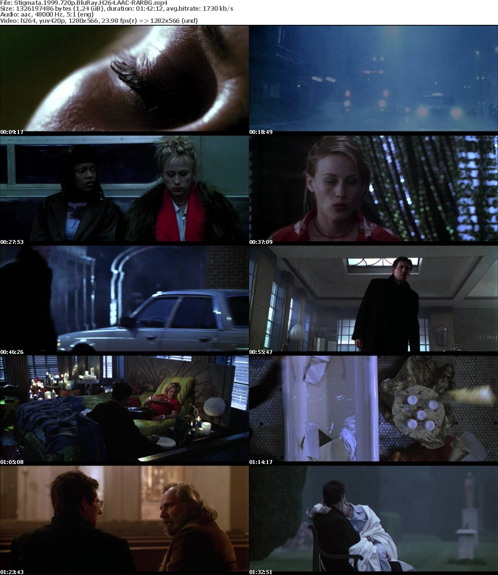 Stigmata 1999 720p BluRay H264 AAC-RARBG