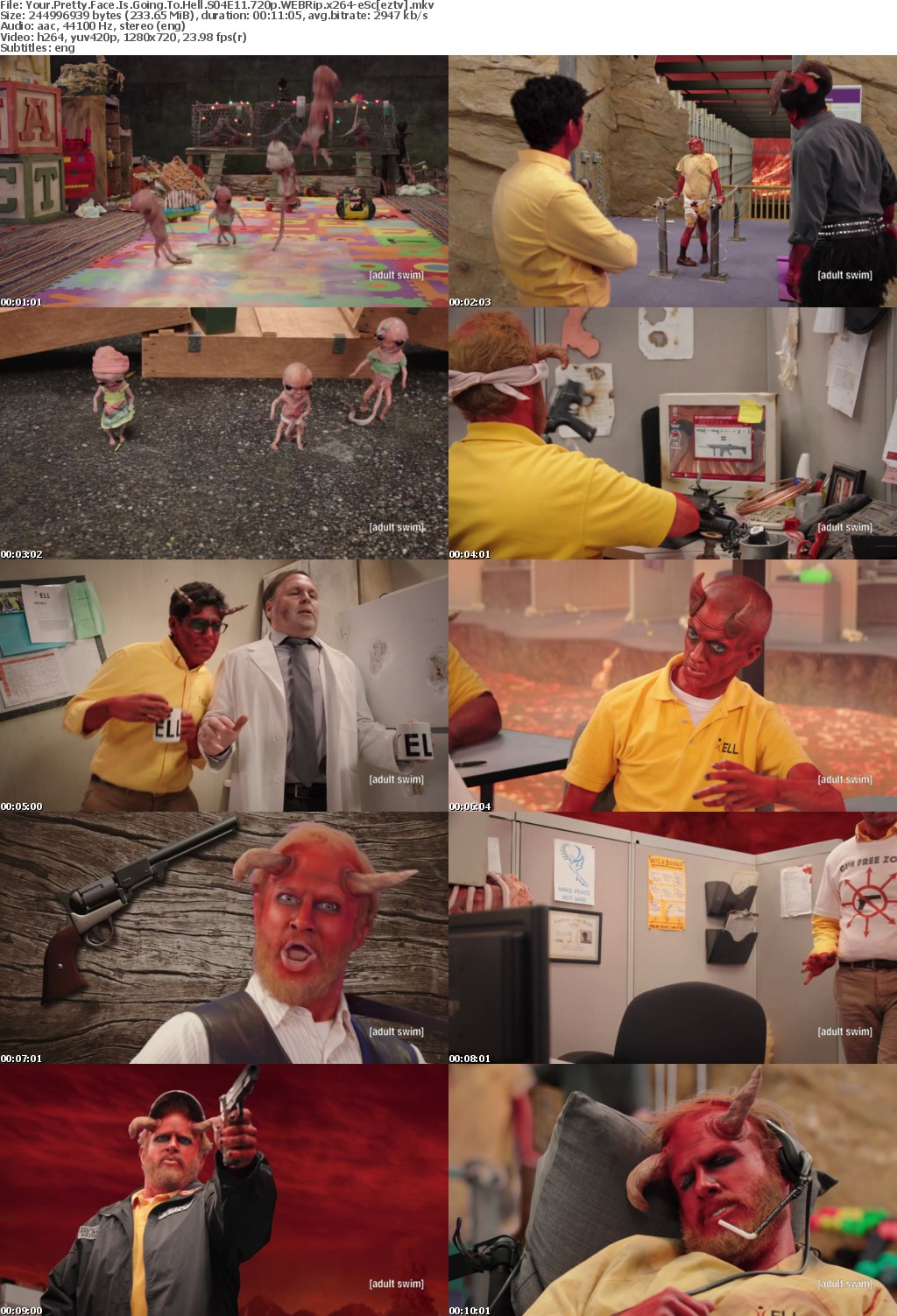 Your Pretty Face Is Going To Hell S04E11 720p WEBRip x264-eSc