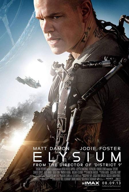 Elysium 2013 x264 720p Esub BluRay 6 0 Dual Audio English Hindi GOPISAHI