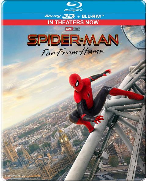 Spider Man Far from Home (2019) 1080p BluRay Dual Audio ORG Eng Hindi-DLW