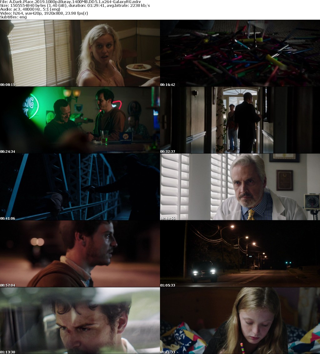 A Dark Place (2019) 1080p Bluray 1400MB DD5.1 x264 GalaxyRG