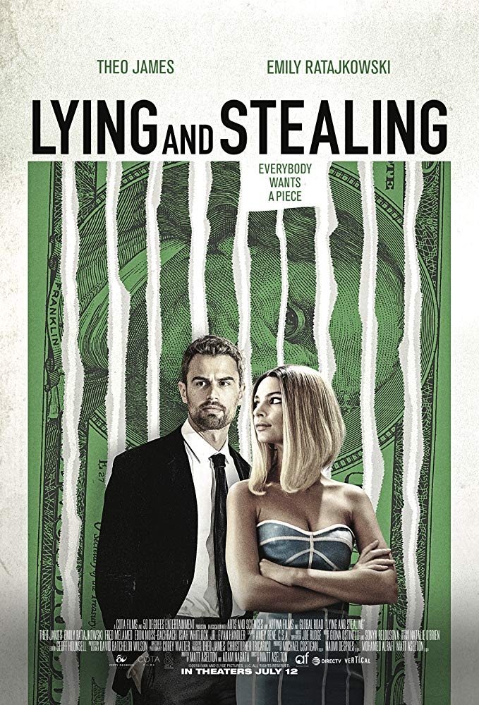 Lying and Stealing 2019 [WEBRip] [1080p] YIFY