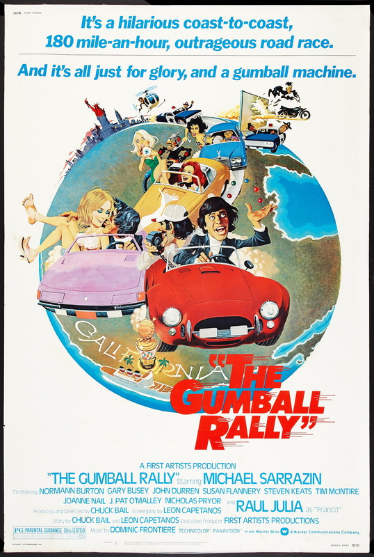 The Gumball Rally 1976 BRRip XviD MP3-XVID
