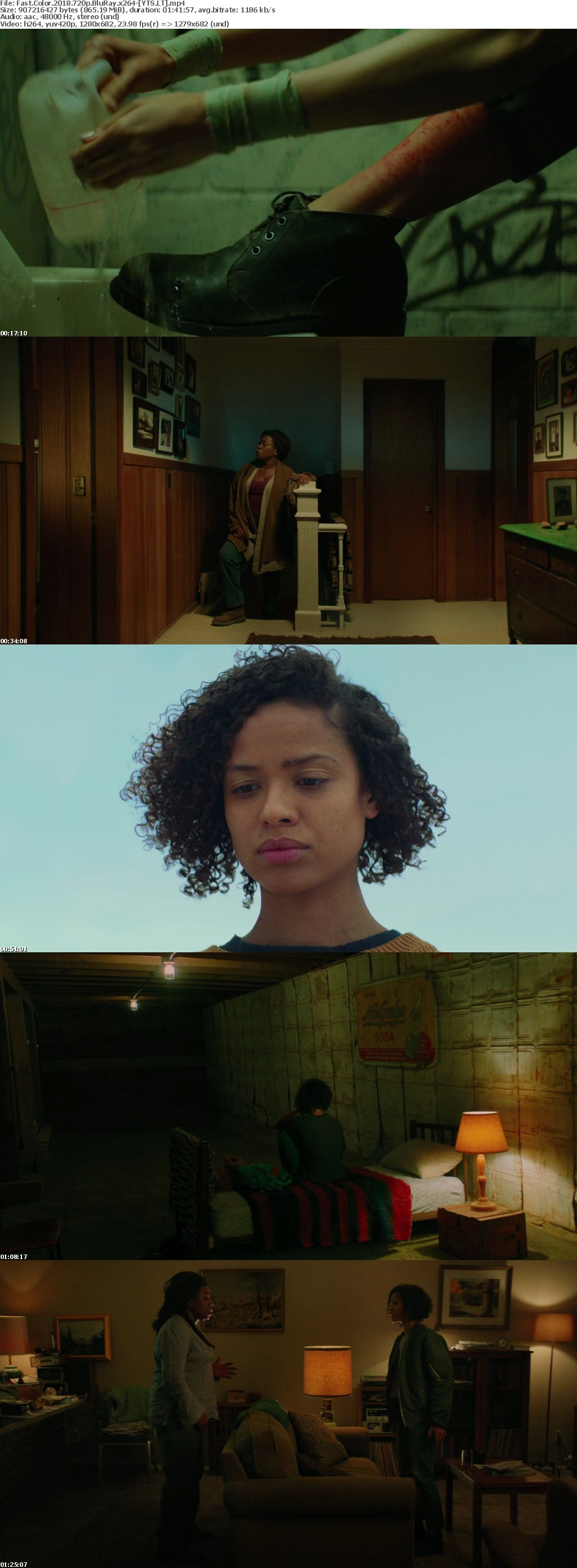 Fast Color 2018 [BluRay] [720p] YIFY