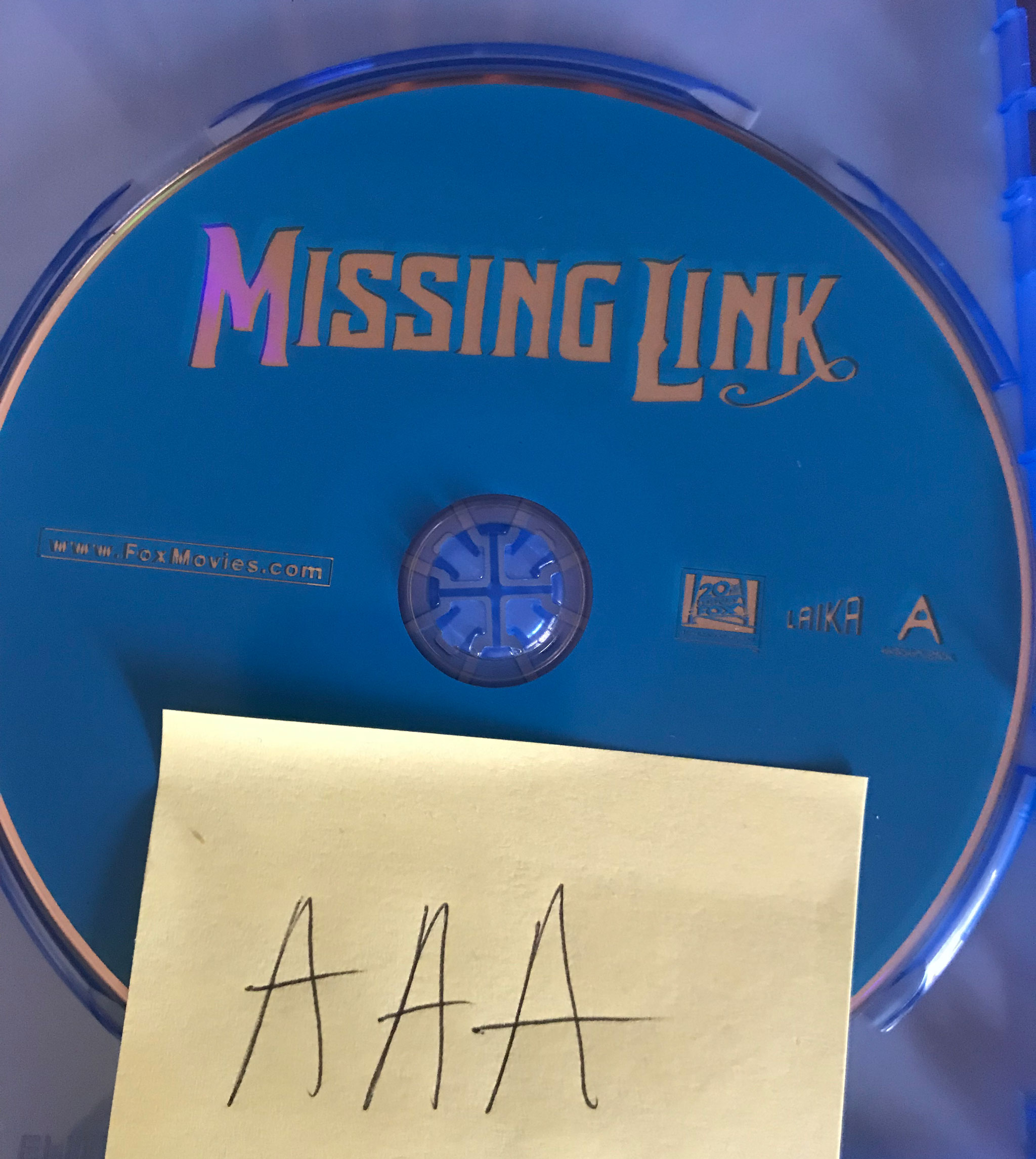 Missing Link 2019 BDRip x264-AAA