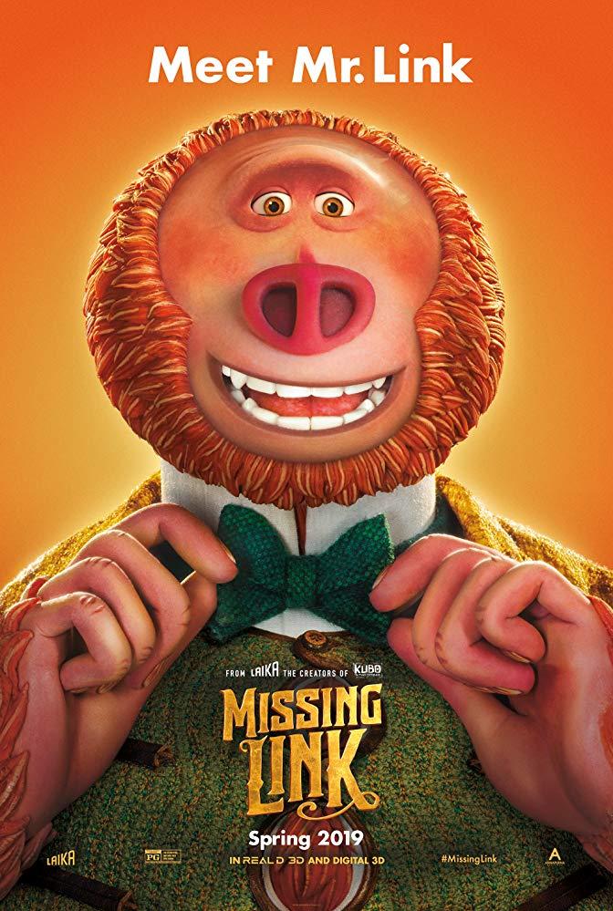 Missing Link 2019 1080p BluRay 1400MB DD5 1 x264-GalaxyRG