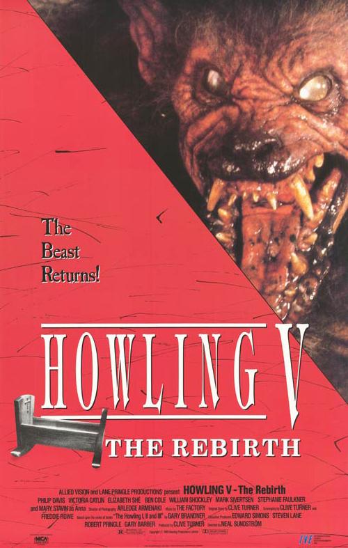 Howling V The Rebirth 1989 BRRip XviD MP3-XVID