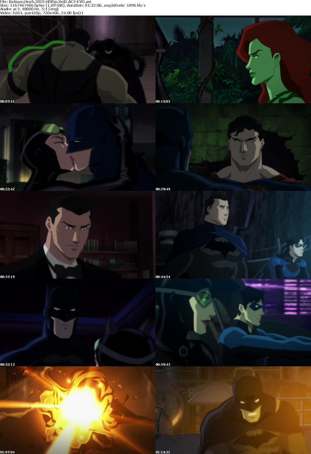 Batman Hush (2019) HDRip XviD AC3 EVO