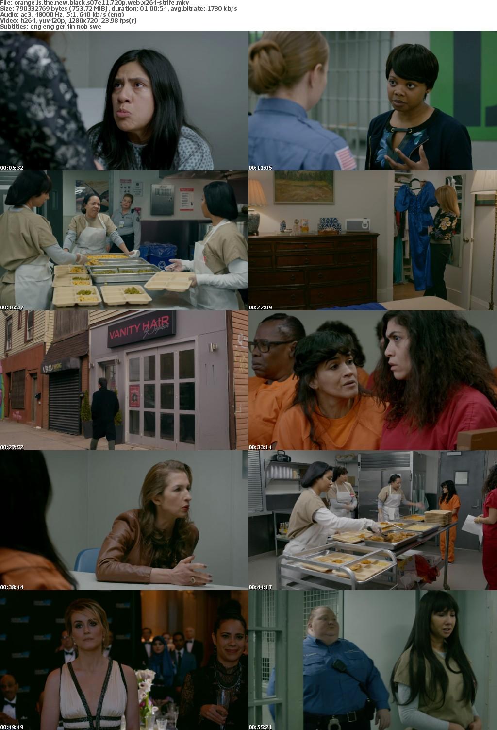 Orange Is the New Black S07 720p WEB x264-STRiFE