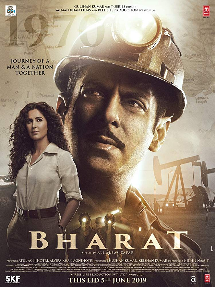 Bharat 2019 Hindi 1080p WEB-DL DD 5 1 x264 ESub [MW]