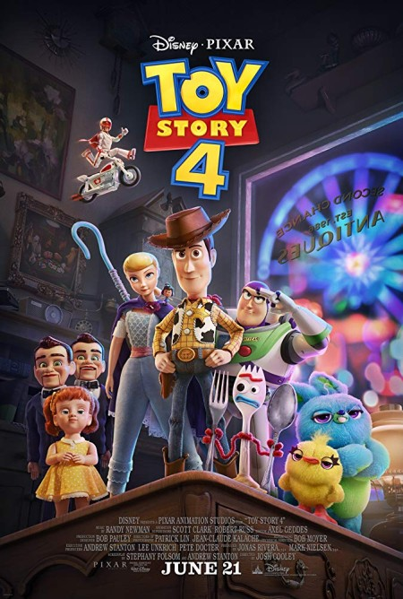 Toy Story 4 (2019) 1080P Webrip X264 Obey