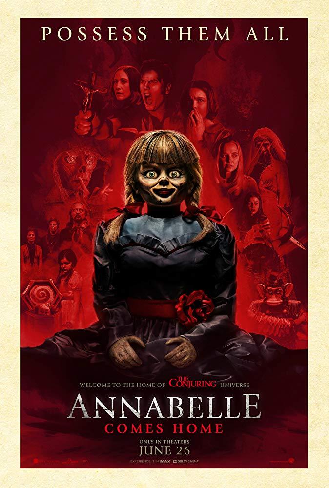Annabelle Comes Home 2019 720p BRRip XviD AC3-XVID