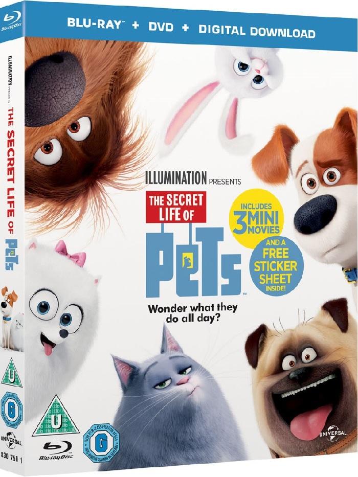 2019《Pet Pet當家2/愛寵大機密2 The Secret Life of Pets 2》BD-MKV@粵國英語/繁簡英