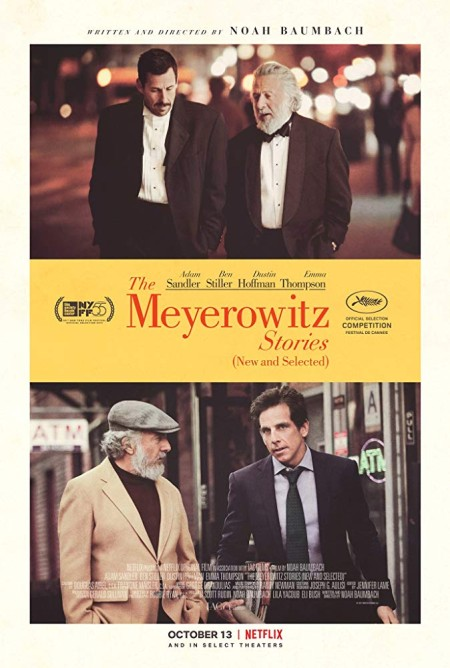 The Meyerowitz Stories New and Selected 2017 720p WEBRip 800MB x264-GalaxyRG