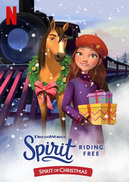 Spirit Riding Free Spirit of Christmas (2019) 720p WEBRip 800MB x264-GalaxyRG