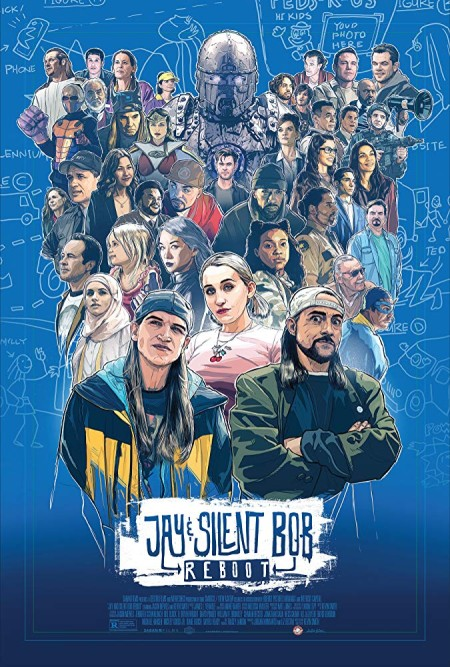Jay and Silent Bob Reboot (2019) BRRip XviD B4ND1T69
