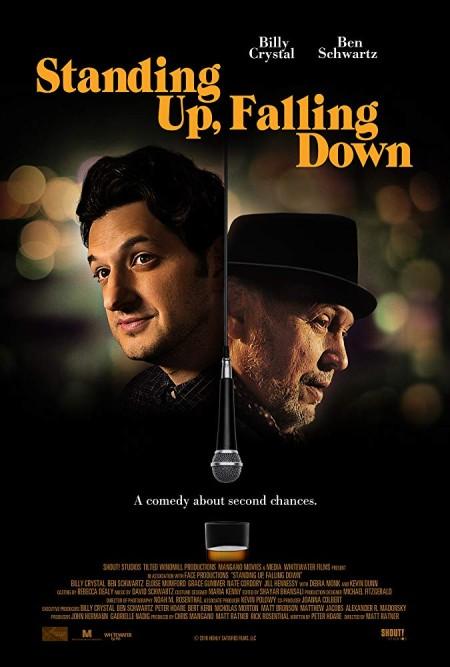 Standing Up Falling Down (2019) 720p WEBRip 800MB x264-GalaxyRG