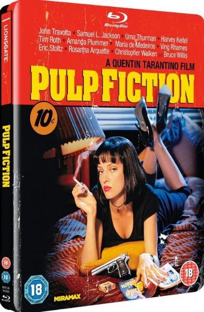 Pulp Fiction (1994) 1080p 10bit Bluray x265 HEVC English DTS  HD MA 5.1 ESubs  MA