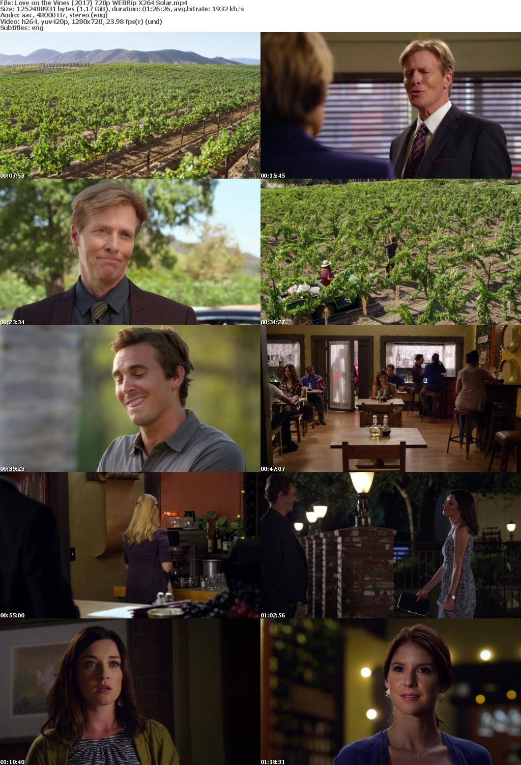 Love on the Vines (2017) 720p WEBRip X264 Solar