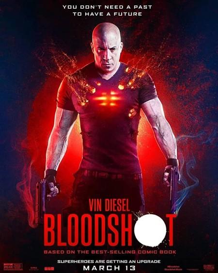 Bloodshot (2020) 720p AMZN WEB-DL Dual Audio Hindi (HQ - English DD5 1 ESub 1GB HDWebMovies