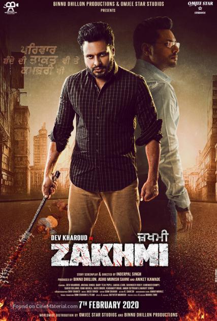 Zakhmi (2020) Punjabi 720p HDTV x264-DLW