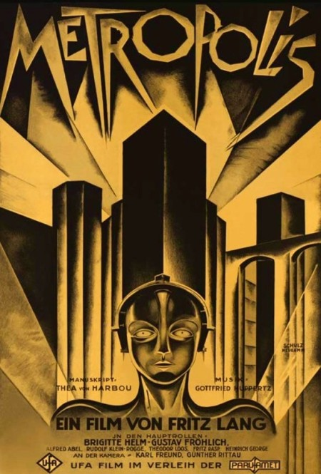 Metropolis (1927)Mp-4 X264 480p Dvd-Rip DSD