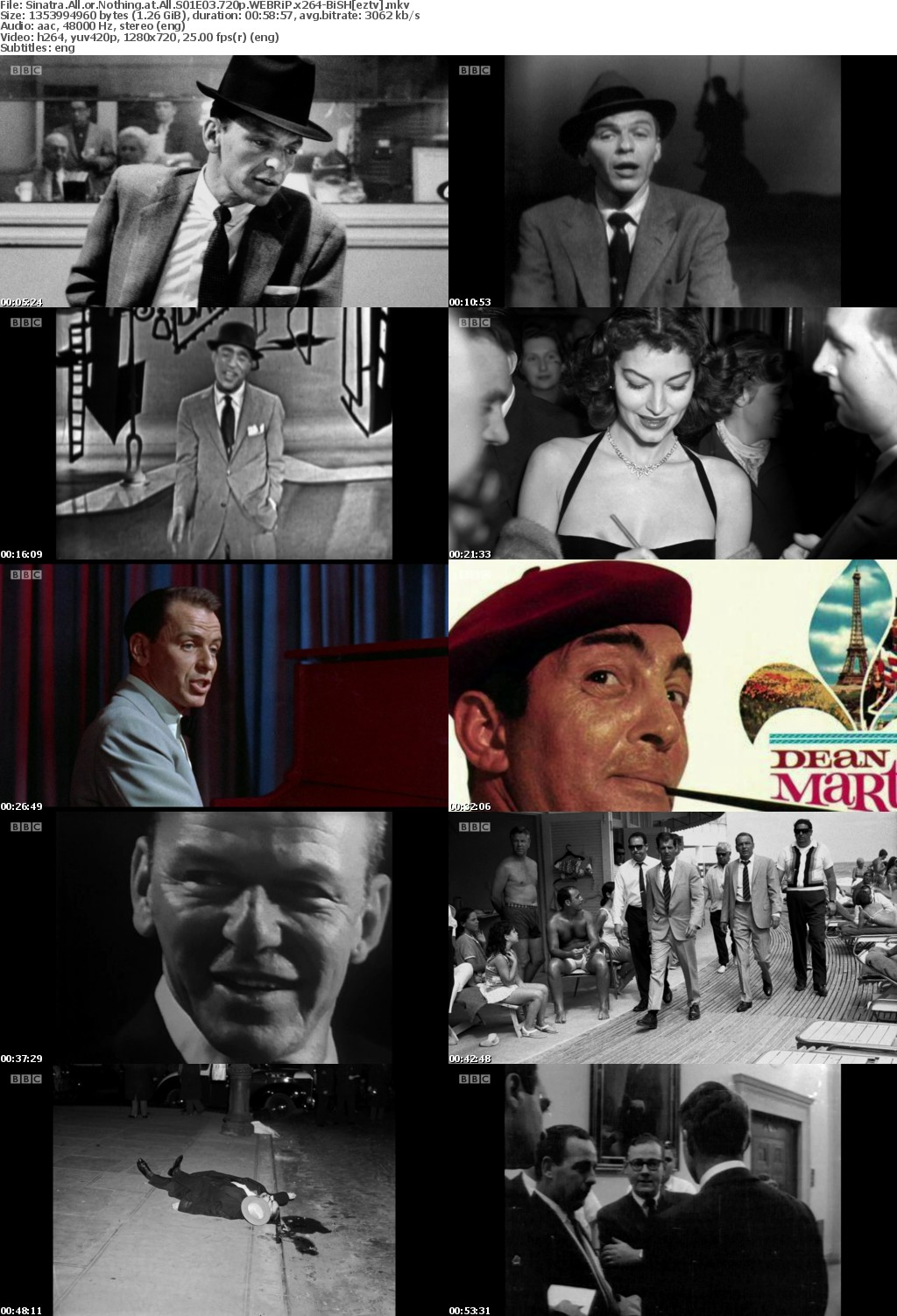 Sinatra All or Nothing at All S01E03 720p WEBRiP x264-BiSH