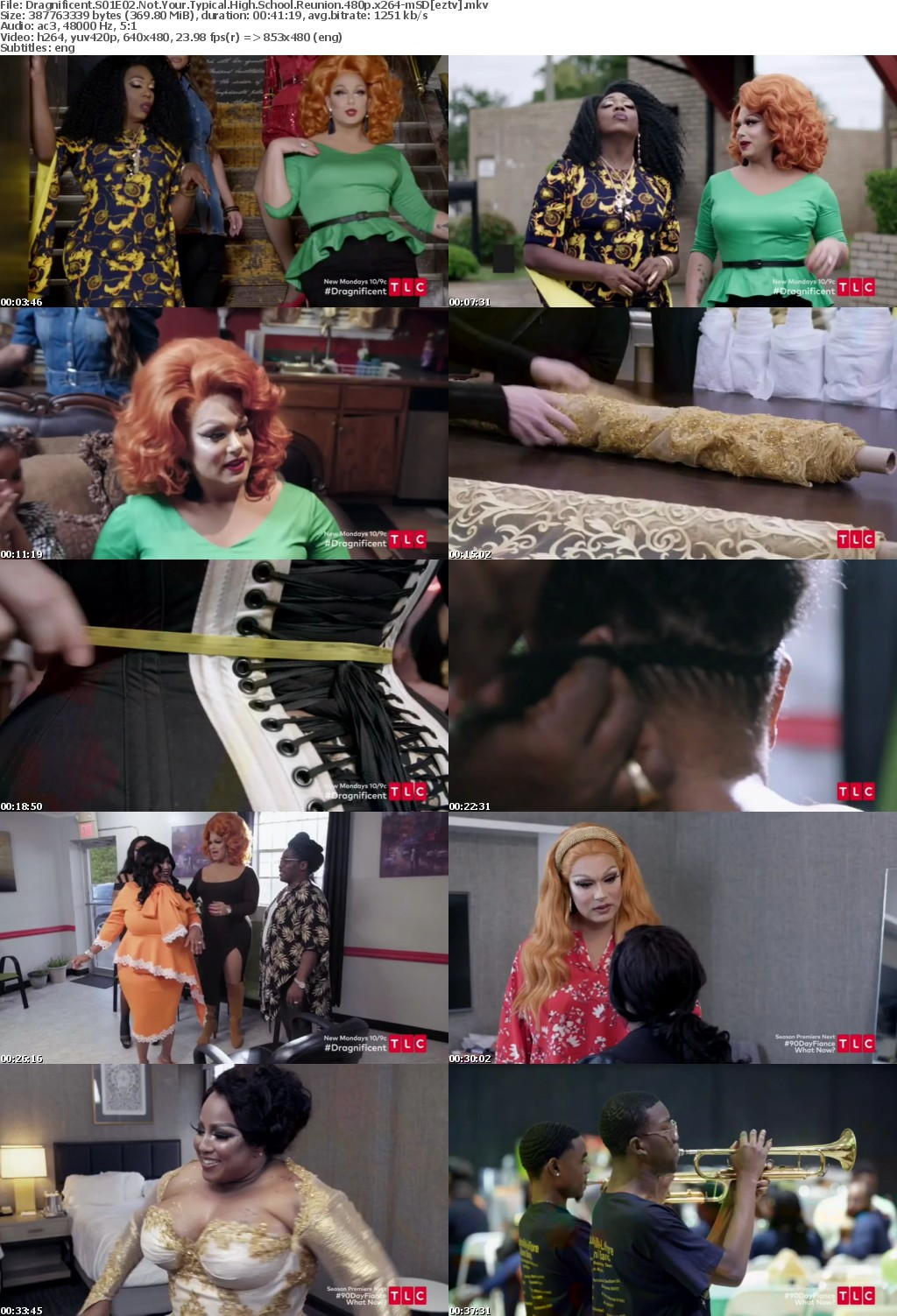 Dragnificent S01E02 Not Your Typical High School Reunion 480p x264-mSD