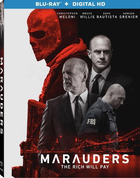 Marauders (2016) 720p BluRay x264 Dual Audio English Hindi ESubs-DLW