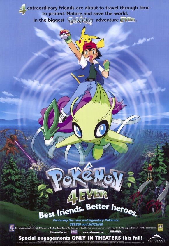 Pokemon 4Ever Celebi Voice of the Forest 2001 DUBBED BRRip XviD MP3-XVID