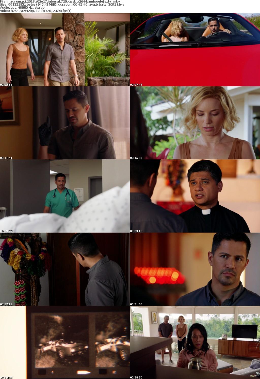 Magnum P I 2018 S02E17 iNTERNAL 720p WEB x264-BAMBOOZLE
