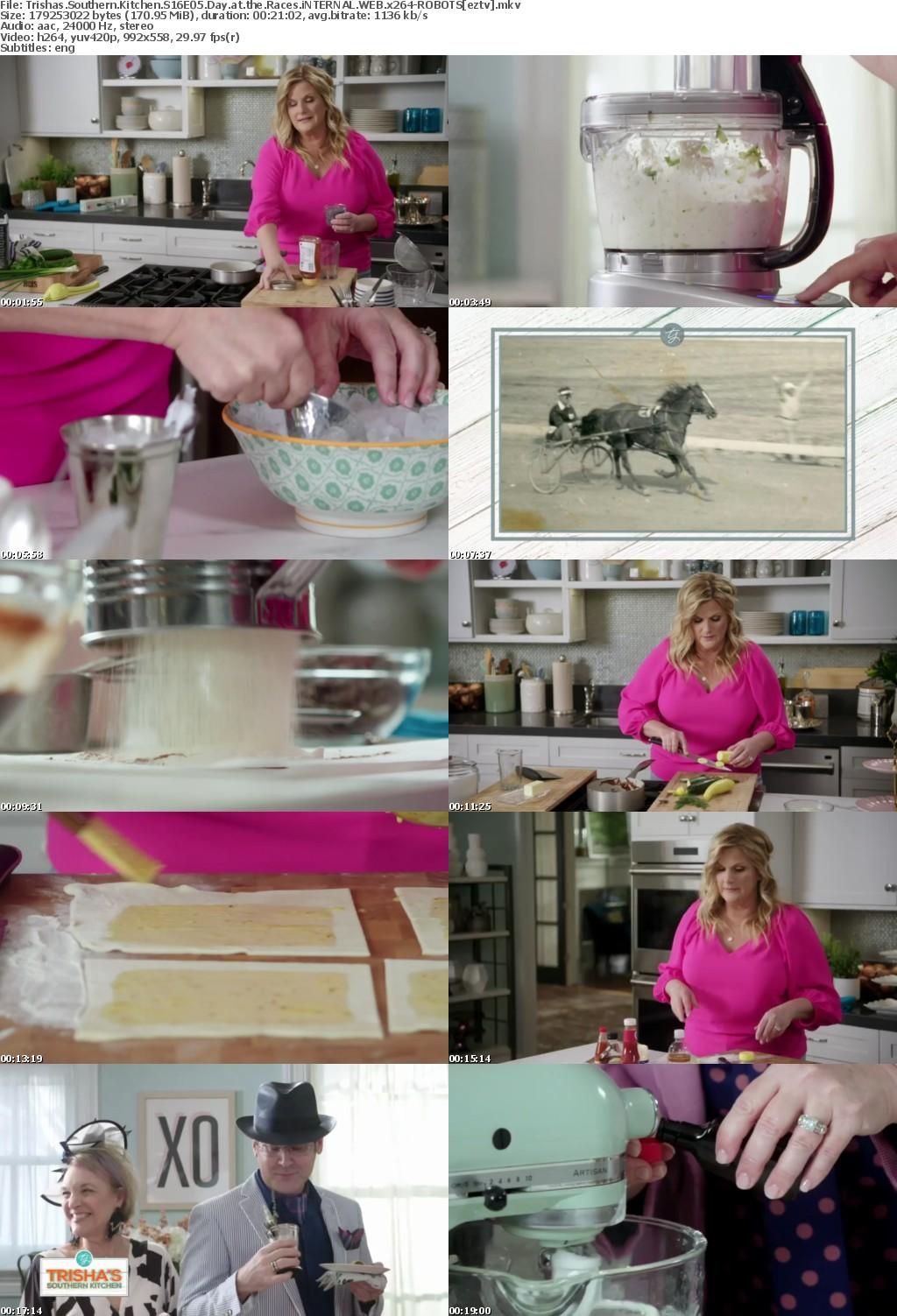 Trishas Southern Kitchen S16E05 Day at the Races iNTERNAL WEB x264-ROBOTS