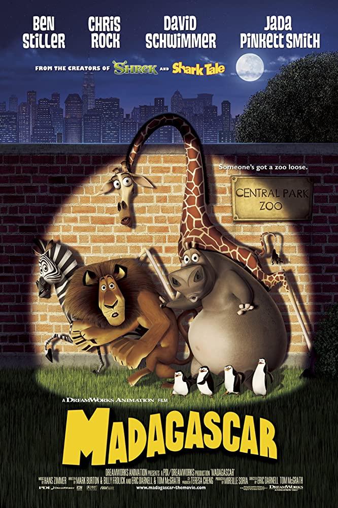 Madagascar 2005 1080p BluRay x265-RARBG
