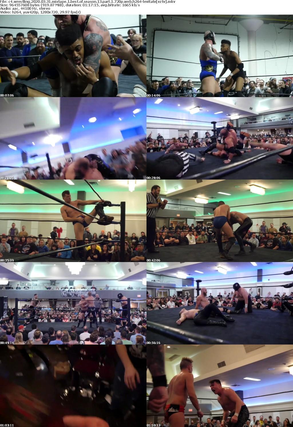 C4 Wrestling 2020 03 31 Mixtape 1 Best Of Season 13 Part 1 720p WEB H264-LEViTATE