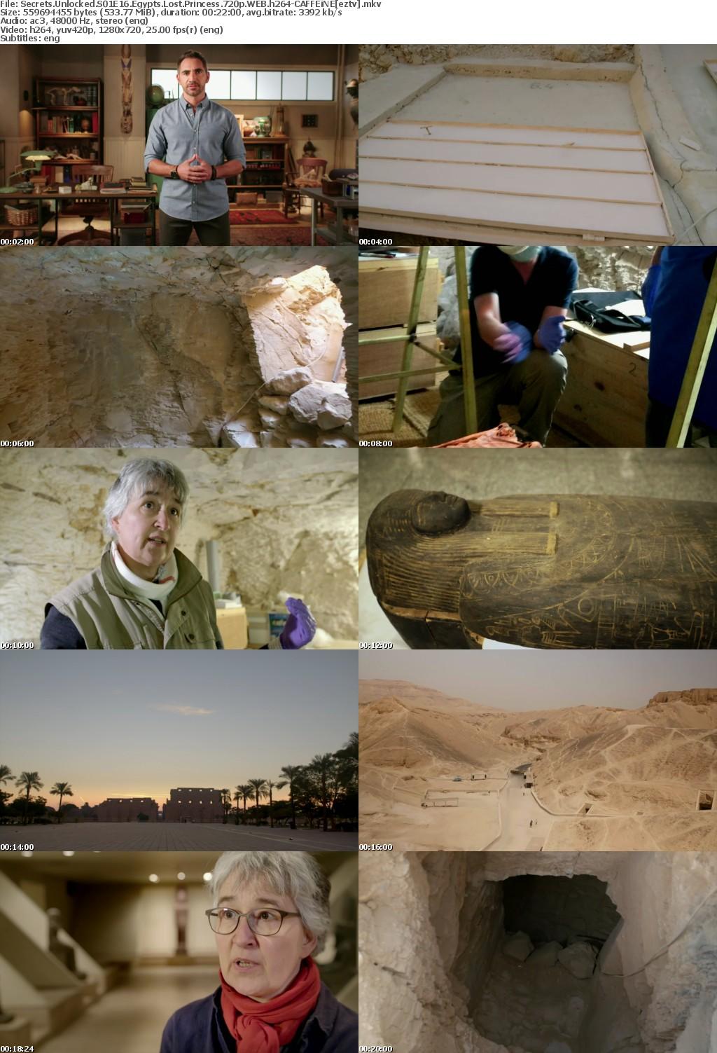 Secrets Unlocked S01E16 Egypts Lost Princess 720p WEB h264-CAFFEiNE