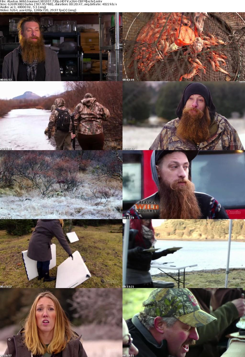 Alaskas Wild Gourmet S01E07 720p HDTV x264-CBFM