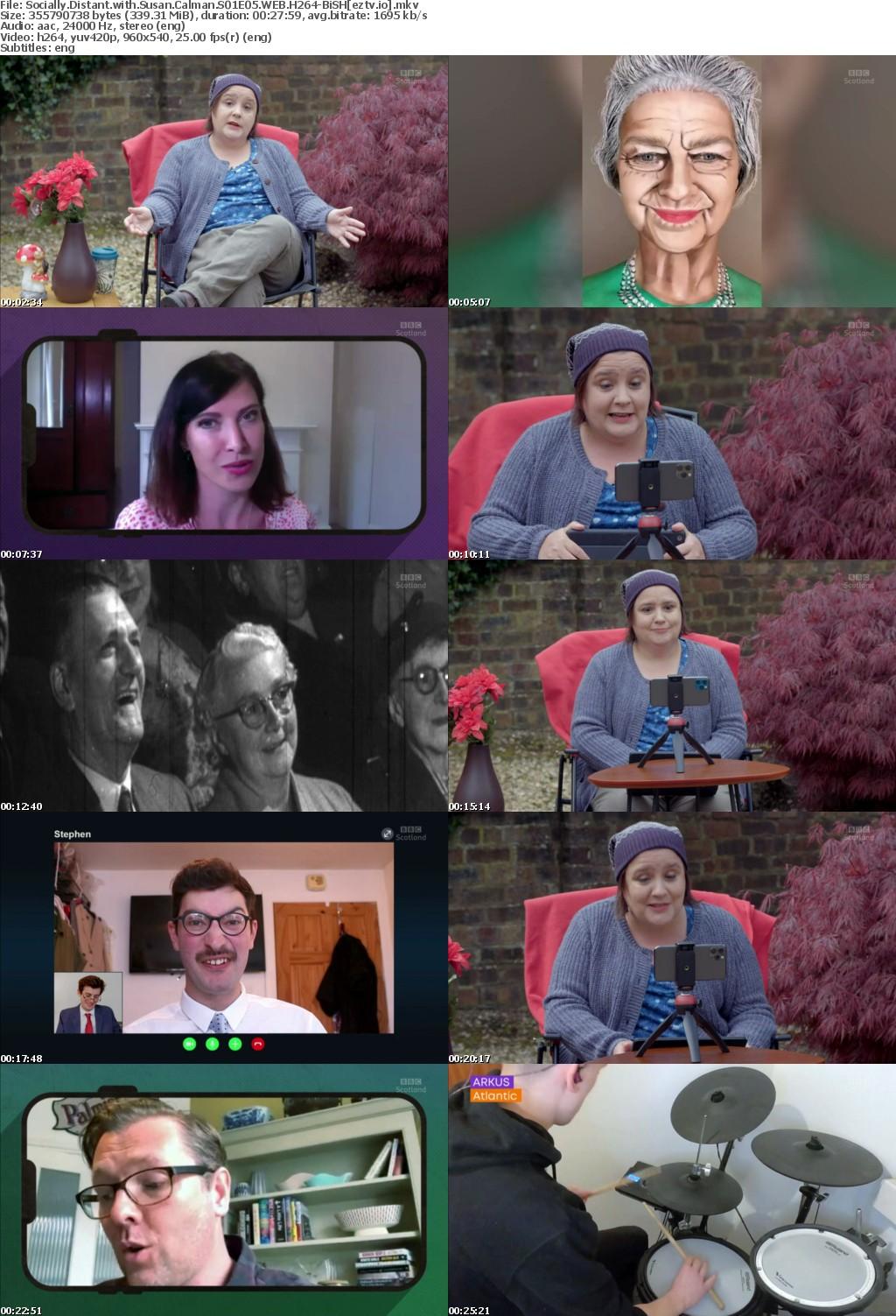 Socially Distant with Susan Calman S01E05 WEB H264-BiSH