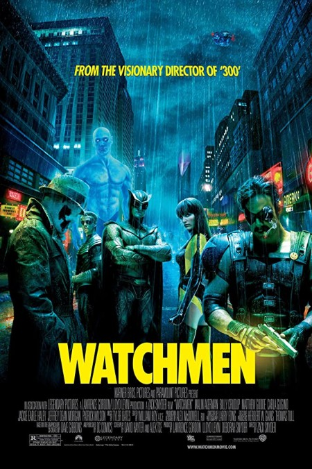 Watchmen 2009 Ultimate Cut 720p 10bit BluRay Hindi English AAC 5 1 x265 HEVC ESub - MoviePirate - Telly mkv
